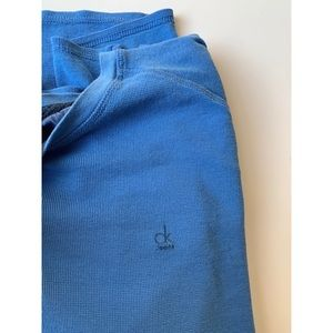 Calvin Klein Jeans Henley Long Sleeve Thermal Top